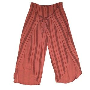 Stevie Hender cool pink terracotta color Culottes!